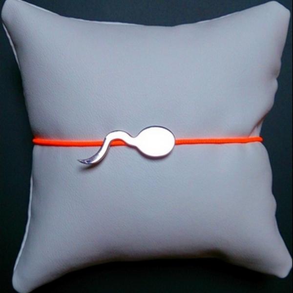 ZOZO Argent rhodié bracelet pendentif bcg designer artiste créateur cordon