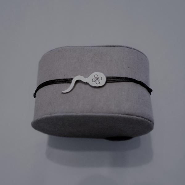 ZOZO GM argent rhodié Bracelet Pendentif BASK bcg designer artiste créateur